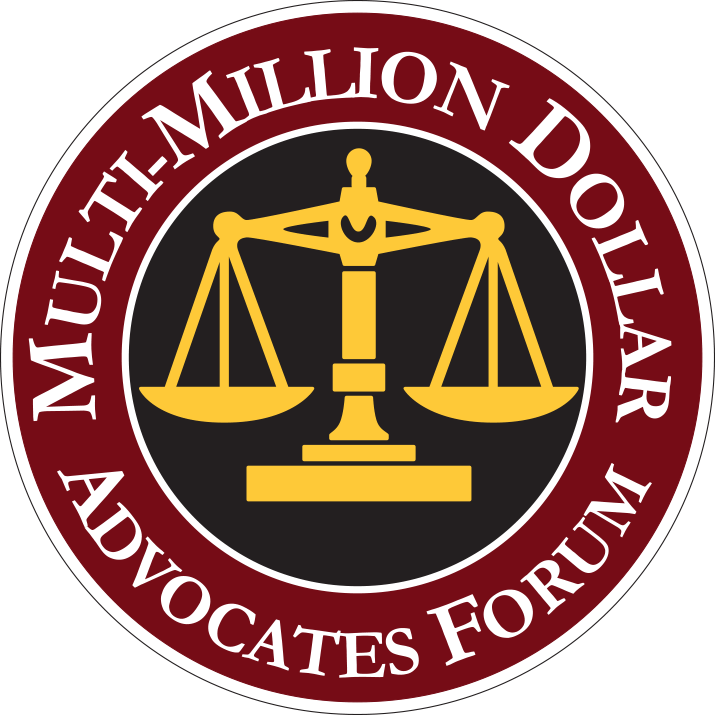 multi-million dollar advocates forum badge icon