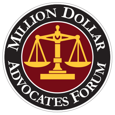 million dollar advocates forum badge icon